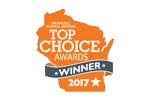 Milwaukee Journal Sentinel Top Choice Award Winner logo.